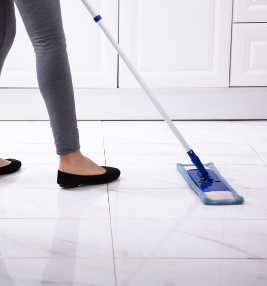 Tile sweeping | Country Manor Decorating