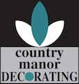 Country manor decorating logo | Country Manor Decorating