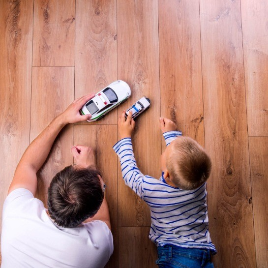 Best hardwood for families | Country Manor Decorating