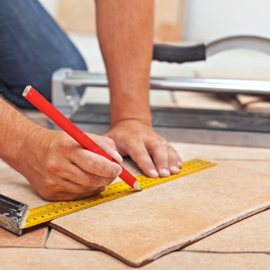 Tile installation | Country Manor Decorating