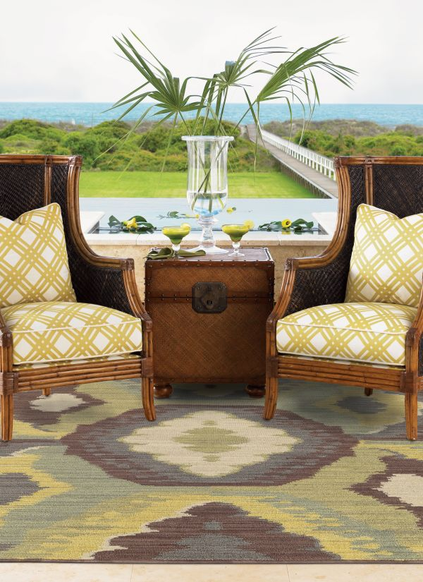 Outdoor rug | Country Manor Decorating