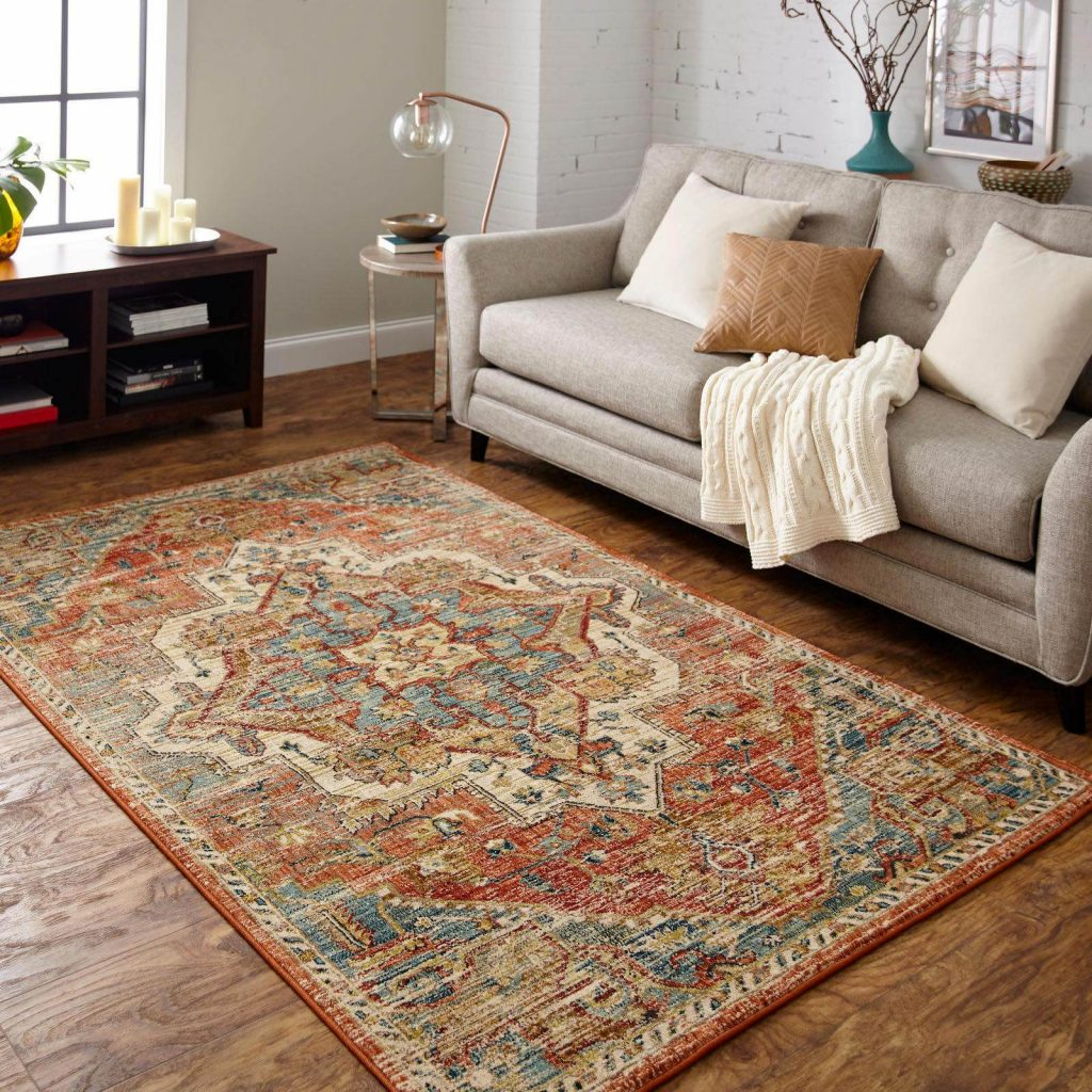 Select a Rug for Your Living Area | Country Manor Decorating
