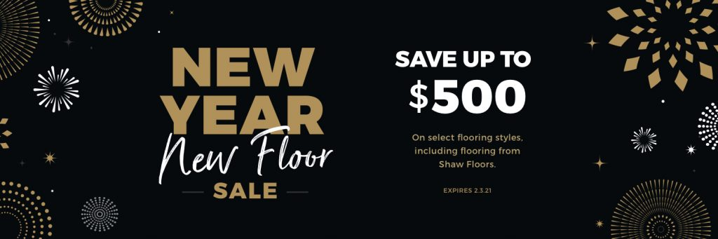New Year New Floors Sale | Country Manor Decorating